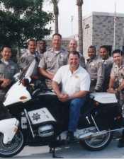 Cliff with some other CHP buddies