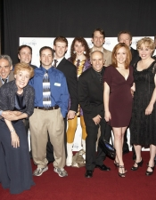 The cast on Opening Night in Toronto, Canada