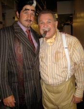 James Moye as Aldolpho and Ciff Bemis as Mr. Feldzieg